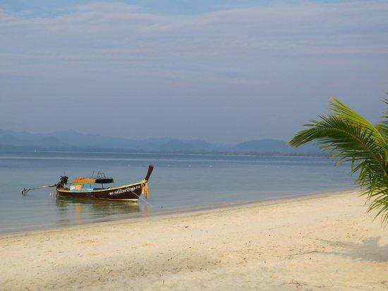 Koh Mook Sivalai Beach Resort : Amazing beach, not a bad view ;-)