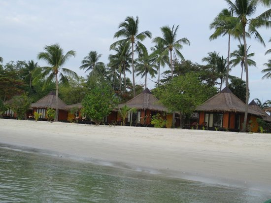 Koh Mook Sivalai Beach Resort : The rooms/frontline bungalows