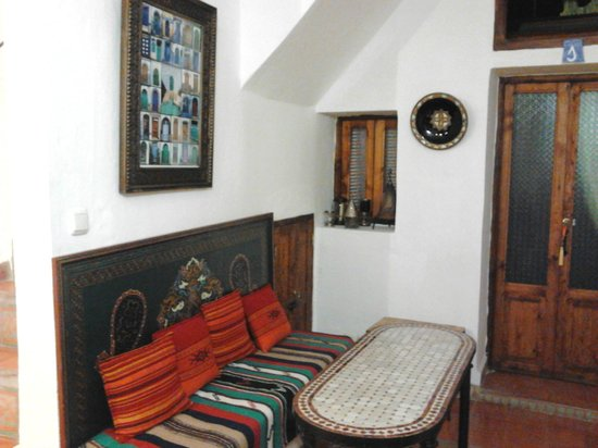 Casa La Palma: RECEPCION