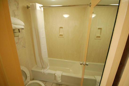 Days Inn Chattanooga-Rivergate: The Bath