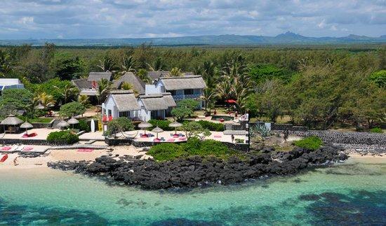 La Maison D'ete Hotel: La Maison d'été vue du Ciel à Poste Lafayette Ile Maurice