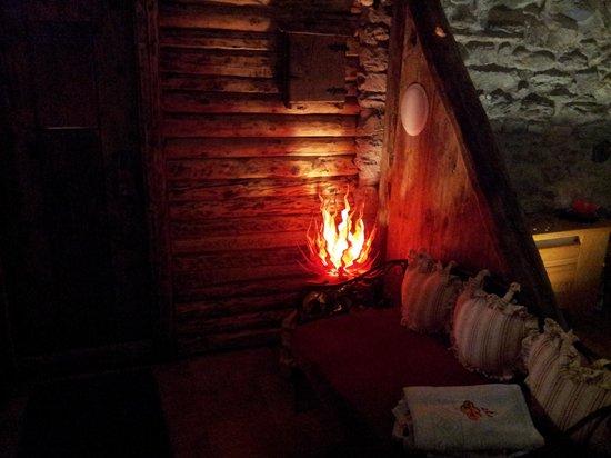 Hotel Tivet: La sauna nella spa
