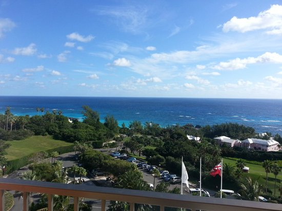 Fairmont Southampton : View from the Balcony of Room