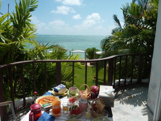 Villa Nalinnadda: Breakfast with a view!