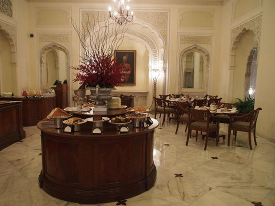 Rambagh Palace: Breakfast Buffet