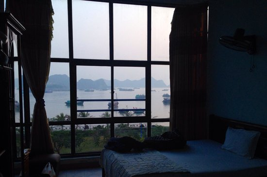 Phuong Mai Family Hotel: The view from our room which was spacious enough