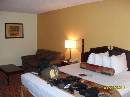 Best Western Tunica Resort: Bed/Sofa