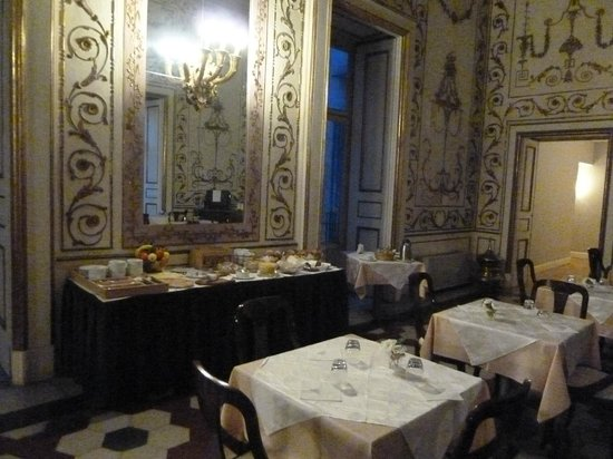Decumani Hotel de Charme : breakfast room