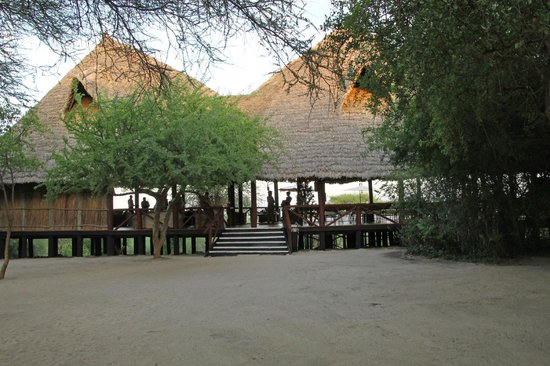 Lake Burunge Tented Camp : Main Lodge