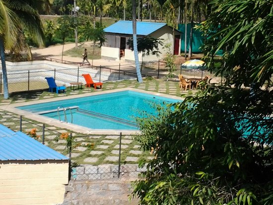 Swimming Pool Outlook Picture Of Khedda Resort Bengaluru Tripadvisor