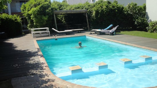 Cape St Francis Resort: Mindre pool vid terassen