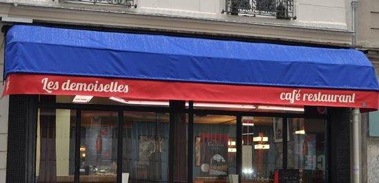 Les Demoiselles Restaurant Café Paris 17