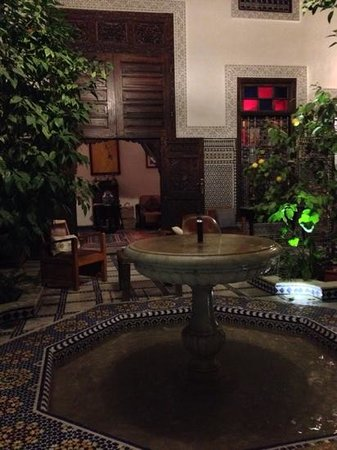 Riad Souafine: le patio