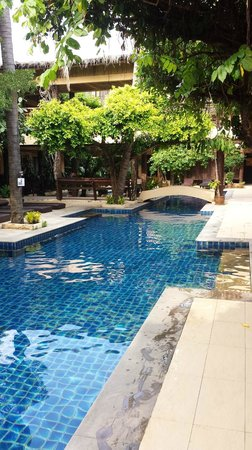 Phra Nang Inn: Pool area