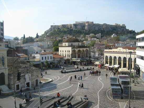 A for Athens: day time view