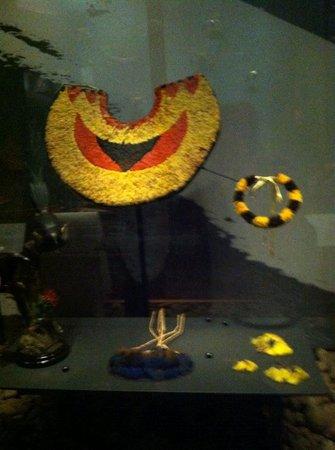 exhibit at Bishop Museum