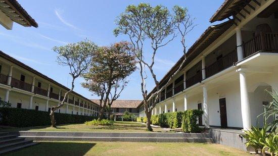 The Fortress: l'hôtel très beau style Sri Lankais