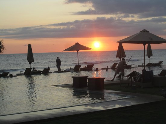 The Fortress Resort & Spa: coucher de soleil