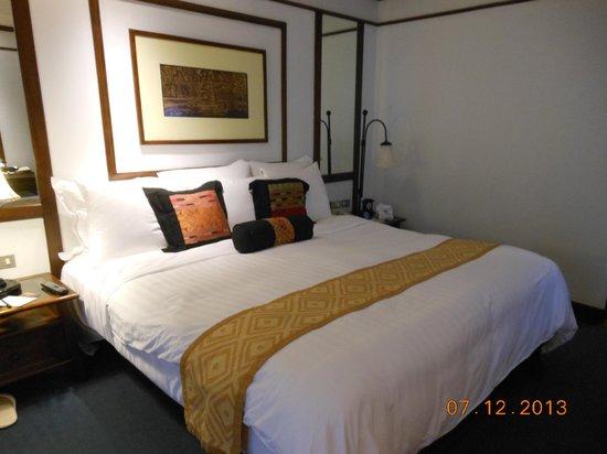 Anantara Hua Hin Resort: chambre d'angle