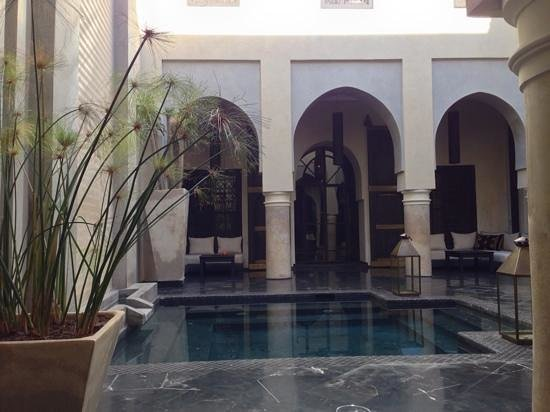 Riad K : le patio