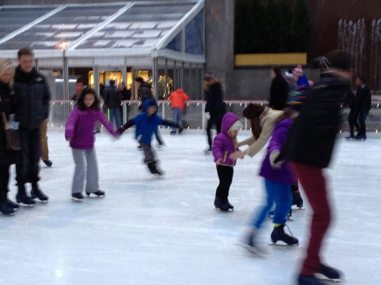 The Rink at Rockefeller Center : Checking this off the bucket list