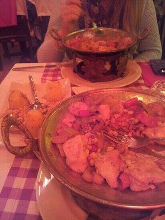 Hotel El Blanco: Food
