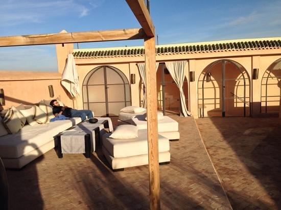 Riad K : la terrasse