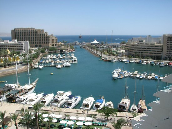 Crowne Plaza Hotel Eilat : вид из балкона