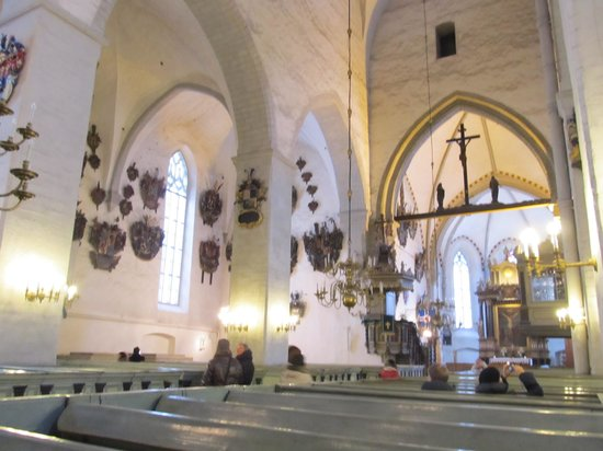 Église du Dôme : Первый взгляд изнутри