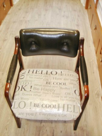 Royal Prince Hostel : Funny chair