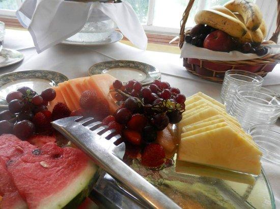 Belmont House: Desayuno