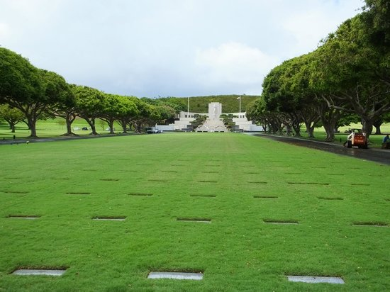 National Memorial Cemetery of the Pacific: On Entry..!
