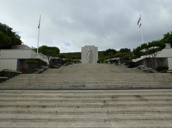 National Memorial Cemetery of the Pacific: A View of Colombia..!