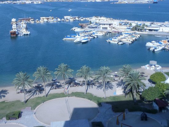 Doha Marriott Hotel: view from the room