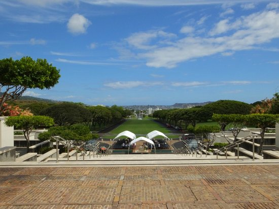 National Memorial Cemetery of the Pacific: More Views of Honolulu..!
