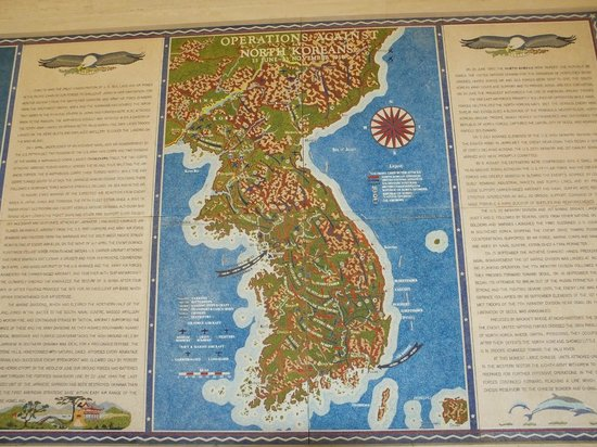National Memorial Cemetery of the Pacific: Mosaic map of Vietnam..!