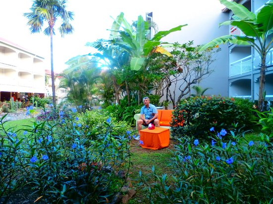 Hotel La Pagerie: pose zen!