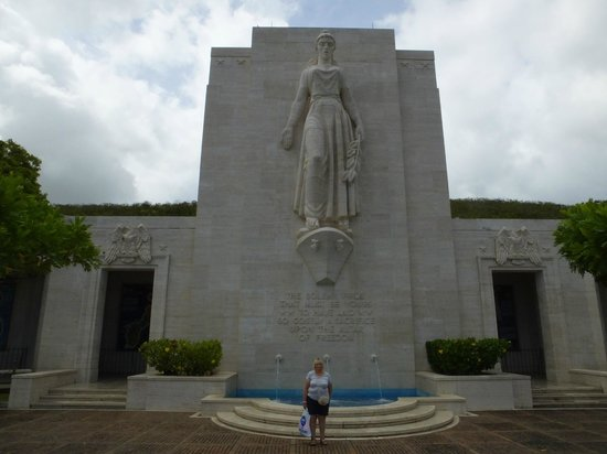 National Memorial Cemetery of the Pacific: Colombia..!