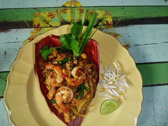 Phranakorn-Nornlen Hotel: delicious pad thai