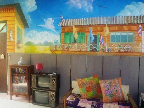 Phranakorn-Nornlen Hotel: mural
