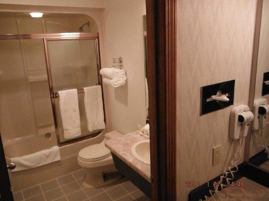Shilo Inn Suites Hotel - Bend: bathroom area