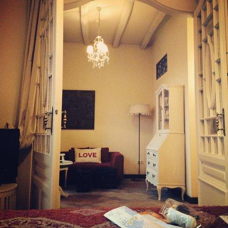 Aiguaclara Hotel: Our beautiful ro