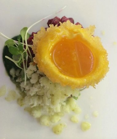 South Lodge Hotel: Beetroot, Egg and Watercress - The Pass