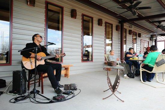 Chamberino, NM: Julio Ortiz Live on Patio