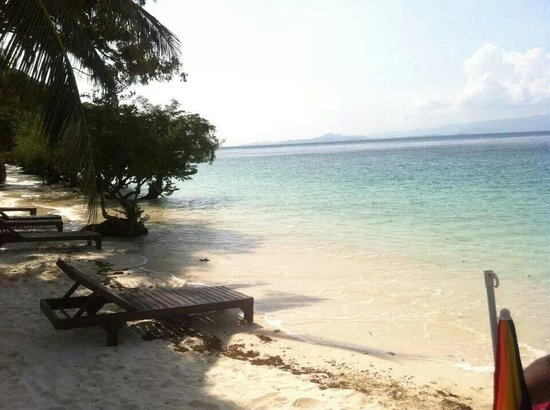 Sarikantang Resort & Spa : Plage