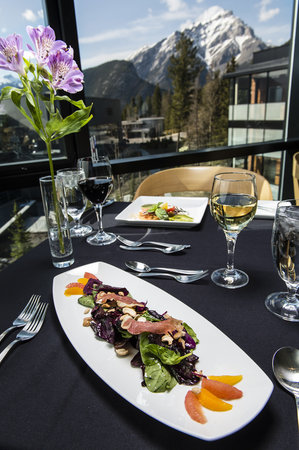 Banff Centre for Arts and Creativity: Fine Dining in Three Ravens Restaurant