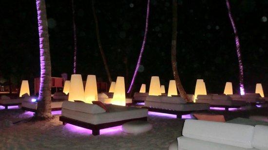 Paradisus Punta Cana Resort: Soirée sur la plage ....