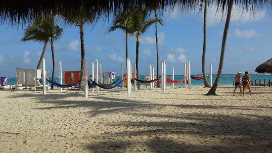 Paradisus Punta Cana Resort: Matinée sur la plage ....