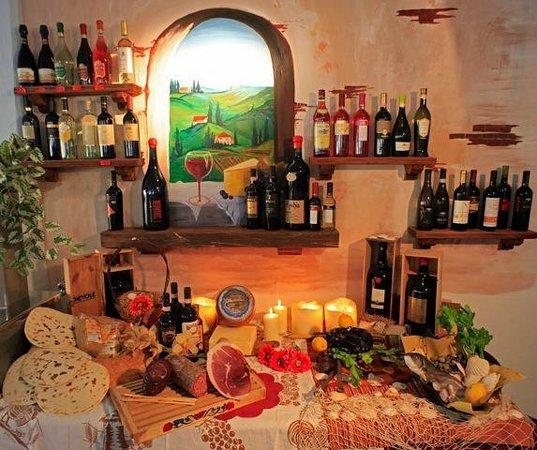 Hotel Villa Claudia: il buffet