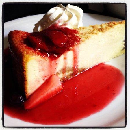 Hilton Long Beach: Cheese cake
